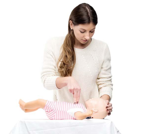 HLR-kurs spädbarn Hjärtochlungräddning.se