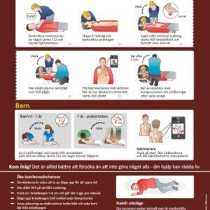 D-HLR, för räddningspersonal