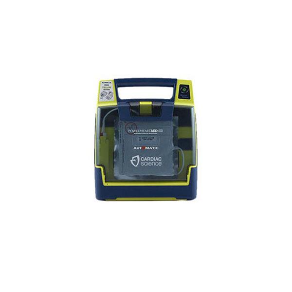 Service hjärtstartare Cardiac Science PowerHeart AED G3 - så byter du batteri och elektroder