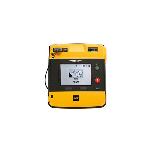 Service hjärtstartare Lifepak 1 000 - så byter du batteri och elektroder