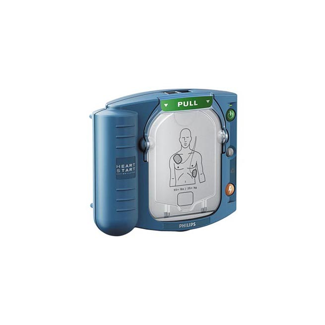 Service hjärtstartare Philips HS1 - så byter du batteri och elektroder