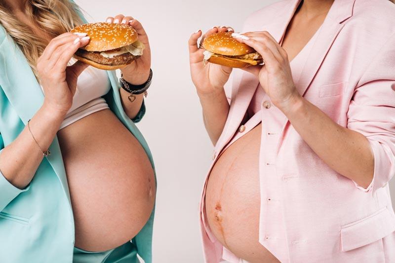 Hur gör man om en gravid sätter i halsen och slutar andas