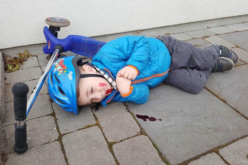 Hur mycket luft ska du blåsa i ett barn som är medvetslöst?