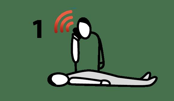 HLR (hjärt- och lungräddning) - 3 enkla steg som räddar liv (1. larma 112)