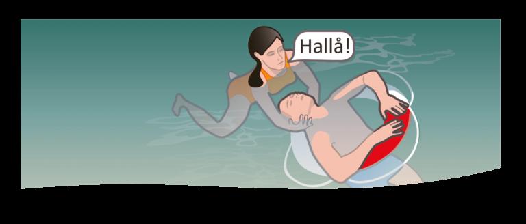 Drunkningsolycka - så gör du HLR vid drunkning (livräddning)