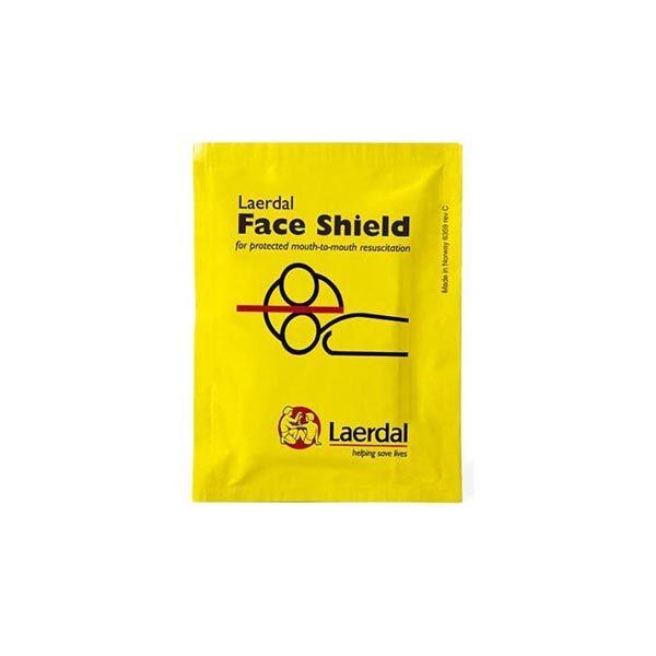 Ansiktsmask för HLR mun-mot-mun-mask plånboksformat