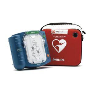 Begagnad hjärtstartare Philips HS1 inklusive väska