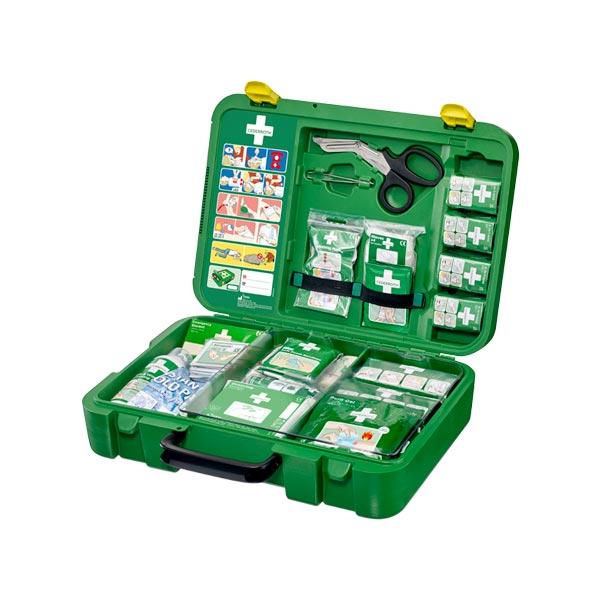Första hjälpen väska Cederroth First Aid Kit X-Large öppen