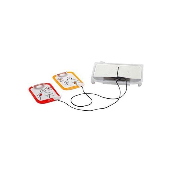 Elektroder hjärtstartare Lifepak CR2 barn och vuxen