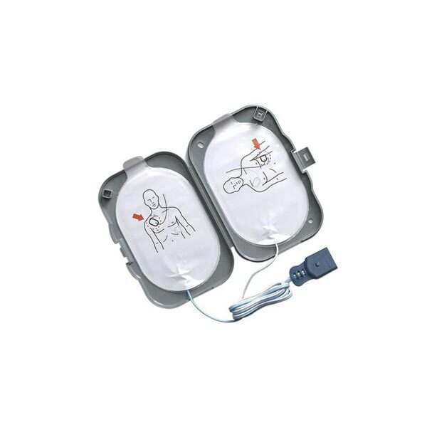 Elektroder hjärtstartare