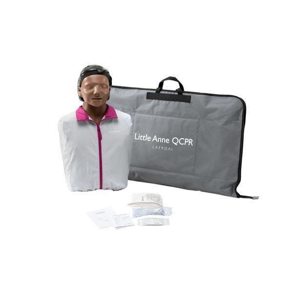HLR-docka Little-Anne QCPR 1-pack mörk hud