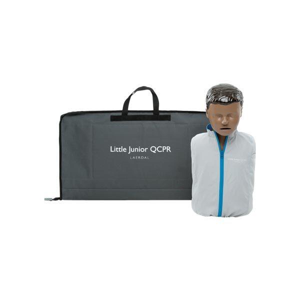 HLR-docka Little-Junior QCPR inklusive väska med mörk hud 1-pack