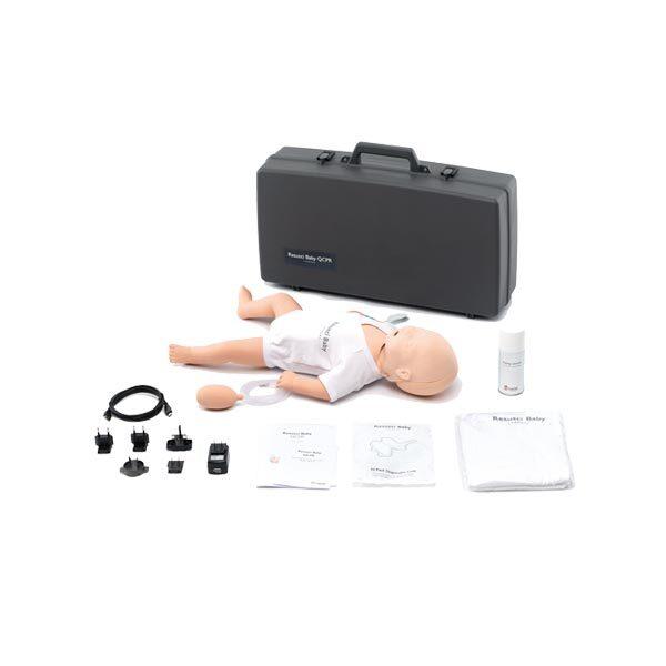 HLR-docka spädbarn Resusci Baby QCPR med luftvägshuvud