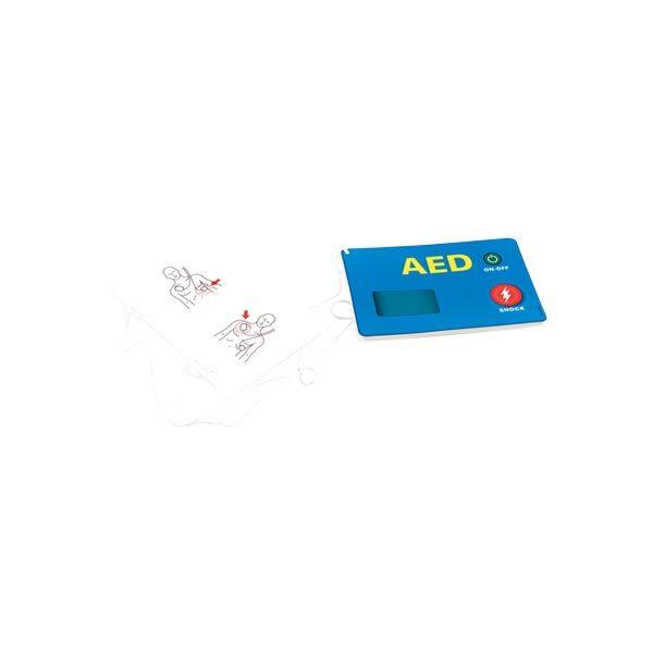 Pappershjärtstartare AED attrapp 5-pack för övning