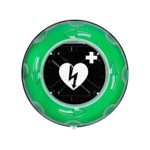 Skåp hjärtstartare Rotaid Solid Plus HEAT värmeskåp 25°C grön