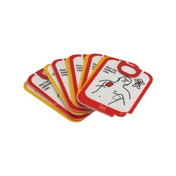 Träningselektroder övningshjärtstartare Lifepak CR2 5-pack