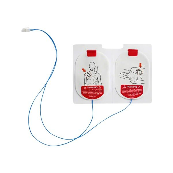 Träningselektroder utbytes övningselektroder Laerdal AED 3
