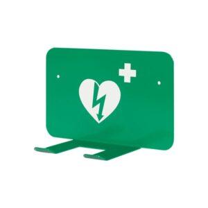 Väggfäste hjärtstartare universal grön