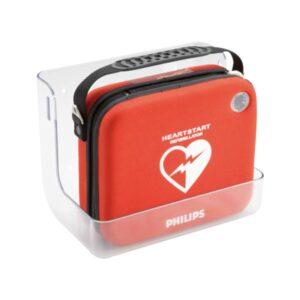 Väggfäste transparent till hjärtstartare Philips HS1 och Frx