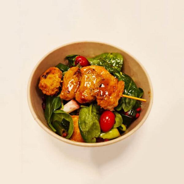 Vegansk bowl till HLR-utbildning