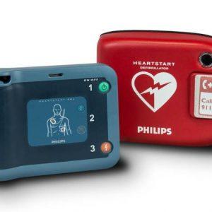 Hjärtstartare Philips FRx med väska