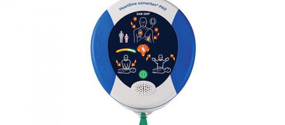 Service hjärtstartare Heartsine Samaritan PAD 300P, 350P, 360P, 500P - så byter du batteri och elektroder